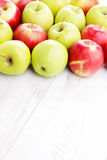 Green and red apples Royalty Free Stock Photos