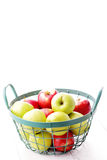Green and red apples Stock Images