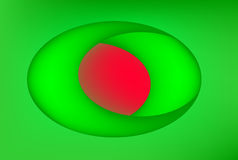 Green and red background Royalty Free Stock Image