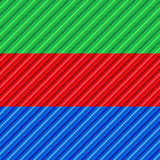 Green,red and blue Stock Photos