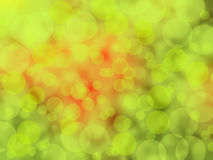 Green red bokeh blur background Stock Photos