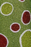 Green and Red Christmas Background. Sparkly Green and Red Christmas Texture for Wallpaper or Background royalty free stock images