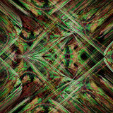 Green And Red Cross Color Fractal Art Platform Stock Photos