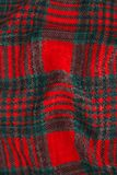 Green and red fabric. Texture Royalty Free Stock Photos