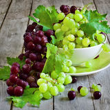 Green and red grape Royalty Free Stock Photo
