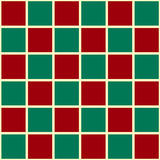 Green Red Grid Christmas Chess Board Background Royalty Free Stock Images