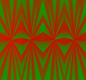 Green red kaleidoscope design background Stock Photos