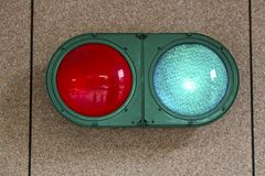 Green red light Royalty Free Stock Photo