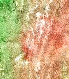 Green Red Paper Stock Image