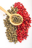 Green and Red Pepper Royalty Free Stock Image