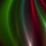 Green and Red streaks of light Royalty Free Stock Photos