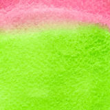 Green and red watercolor squarer background Royalty Free Stock Images