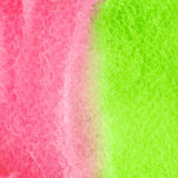 Green and red watercolor squarer background Stock Images