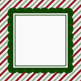 Green, Red and White Striped Candy Cane Striped Background Royalty Free Stock Photo
