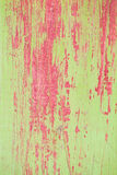Green and red wood background Stock Images