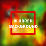 Green, red and yellow background Royalty Free Stock Image