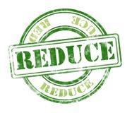 Reduce grunge rubber stamp royalty free stock photos