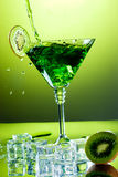 Green refreshment Stock Images