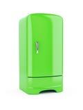 Green Refrigerator Royalty Free Stock Photography
