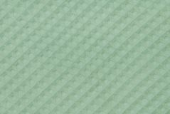 Green relief fabric Stock Image