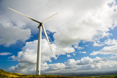 Green renewable energy Stock Images