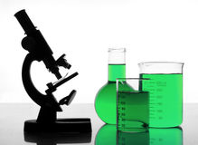 Green research Royalty Free Stock Photography