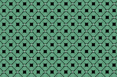 Green retro background. With repeating design pattern Royalty Free Stock Photography