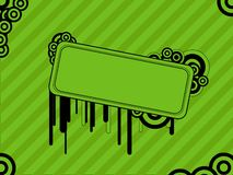 Green retro background Stock Photos