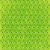 Green Retro Circles Background. A super funky textured retro background with rings circles dots and grunge Royalty Free Stock Image