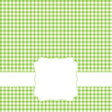 Green retro frame Stock Images