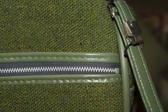 Green Retro Luggage Royalty Free Stock Image