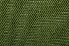 Green retro plastic tissue pattern Royalty Free Stock Photo