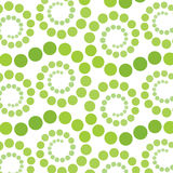 Green retro styled spiral Royalty Free Stock Image