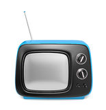 Green retro TV Royalty Free Stock Images