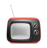 Green retro TV Stock Photos