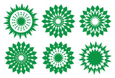 Free Green Retro Vector Kaleidoscopic Design Element Stock Image - 48578871