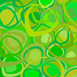 Green retro wallpaper vector Royalty Free Stock Photos