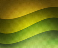 Green Retro Wavy Background Stock Photography