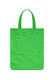 Green reusable shopping bag Royalty Free Stock Images