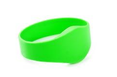 Green RFID Bracelet Stock Photos