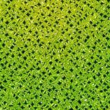 Green rhombus. Royalty Free Stock Photo