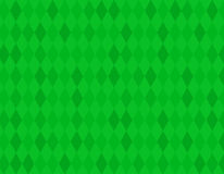 Green rhombus background Stock Images