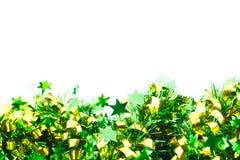 Green ribbin decoration Royalty Free Stock Photo