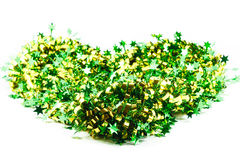 Green ribbin decoration Stock Images