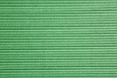 Green ribbled surface Stock Photography