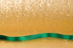 Green ribbon Royalty Free Stock Photo