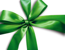 Green ribbon Royalty Free Stock Photography