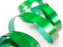 Green ribbon Stock Image