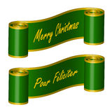 Green Ribbon Stock Images