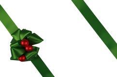 Green ribbon Royalty Free Stock Image
